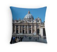 St Peter's Basilica, The Vatican,  Throw Pillow