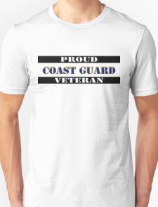 Proud Coast Guard Veteran Unisex T-Shirt