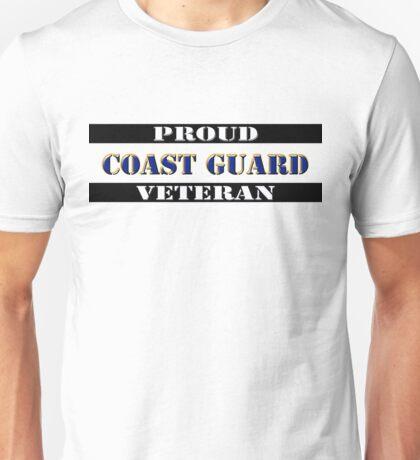 Proud Coast Guard Veteran Unisex T-Shirt