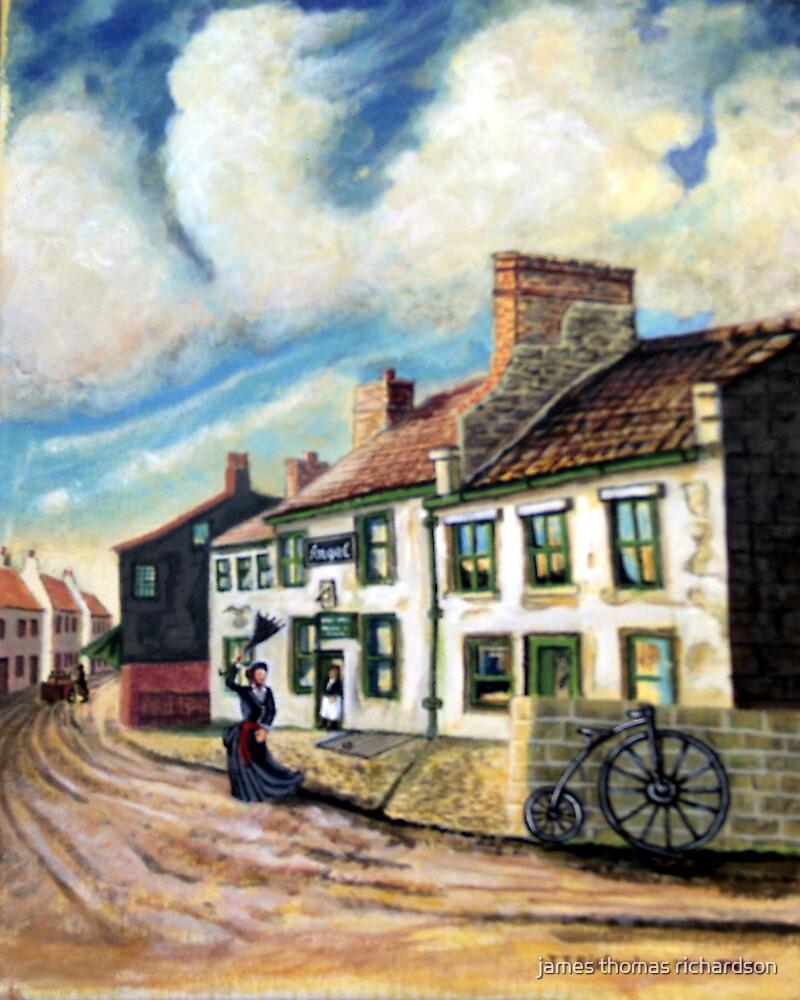 The angel inn corbbridge northumberland  U.K. by james thomas richardson