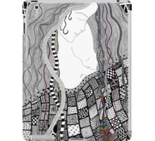 Mother & Baby Abstract Beautiful Illustration iPad Case/Skin