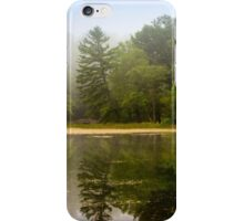 Foggy Morning Landscape iPhone Case/Skin