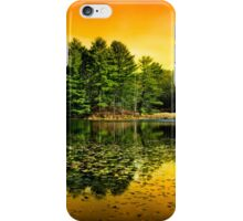Sunrise Reflection Landscape iPhone Case/Skin