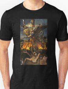 Saint Gordon Ramsay and the Holy Risotto T-Shirt