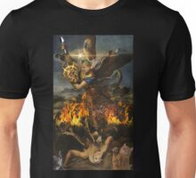 Saint Gordon Ramsay and the Holy Risotto Unisex T-Shirt
