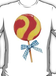 Lollipop Pattern T-Shirt