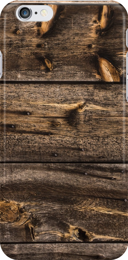 Weathered Wooden Abstracts – Four – Vertical by Georgia Mizuleva