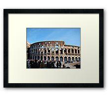Roman Colosseum, Italy Framed Print