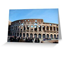 Roman Colosseum, Italy Greeting Card