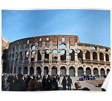 Roman Colosseum, Italy Poster