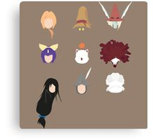 FFIX Party Faces Canvas Print