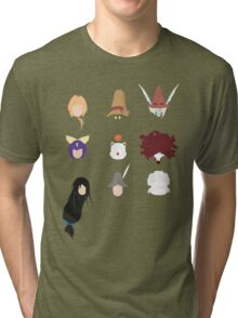FFIX Party Faces Tri-blend T-Shirt