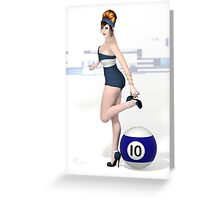 Poolgames 2012 - No. 10 Greeting Card