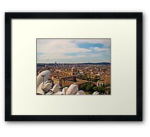 Rome Overview, Italy Framed Print