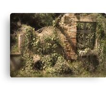 Secret Garden 3 Canvas Print