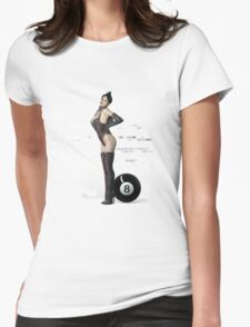 Poolgames 2012 - No. 8 Womens Fitted T-Shirt