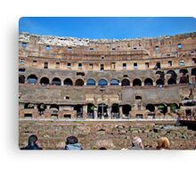 Roman Colosseum II, Italy Canvas Print