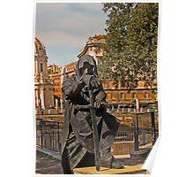 The Dark Knight, Rome, Italy Poster