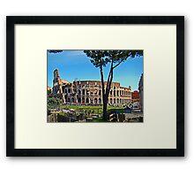 Roman Colosseum III, Italy Framed Print