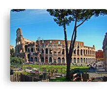 Roman Colosseum III, Italy Canvas Print