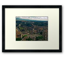 Ancient Rome, Italy Framed Print