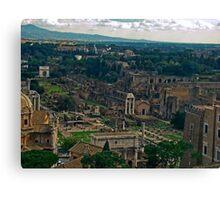Ancient Rome, Italy Canvas Print