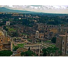 Ancient Rome, Italy Photographic Print