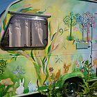 Enchanted forest caravan by Amanda Gazidis