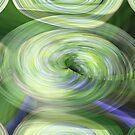 Green circles by Merice  Ewart-Marshall - LFA