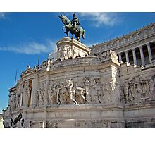 Monument to King Vittorio Emanuele II, Rome, Italy Photographic Print
