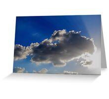 Rays Greeting Card