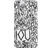 IOU iPhone Case/Skin