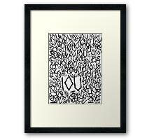 IOU Framed Print