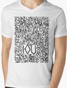 IOU Mens V-Neck T-Shirt