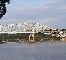 O'Neal Bridge Florence, Alabama by DebbieCHayes