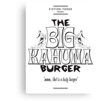 Big Kahuna Burger - Pulp Fiction Canvas Print