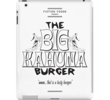 Big Kahuna Burger - Pulp Fiction iPad Case/Skin