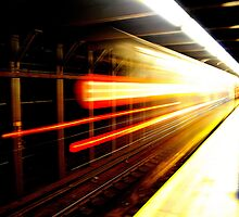 Screaming Subway by bwaters