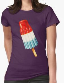 Bomb Pop Pattern Womens Fitted T-Shirt