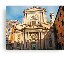 Ancient Roman Church Canvas Print