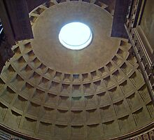 The Pantheon, Rome, Italy by Al Bourassa