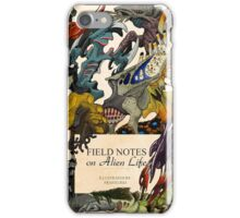 Field Notes on Alien Life iPhone Case/Skin
