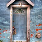 Front door news by Elisabeth van Eyken