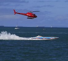 Powerboat Racing at its Best by AlexKokas