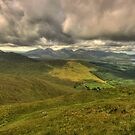 Connemara mountains by John Quinn