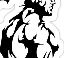 Demon Pack Tribal Muscle  Sticker