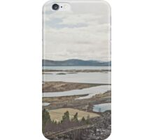 Between Plates iPhone Case/Skin