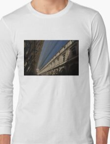 Playing With The Shadows - Brussels, Belgium Royal Galleria Long Sleeve T-Shirt