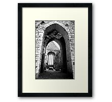 Arches of Timoleague Framed Print