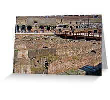 Where Lions Rome Greeting Card